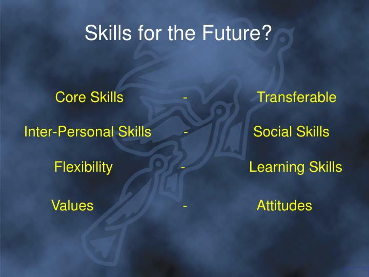 Skills for the Future?