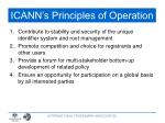 icann s principles of operation