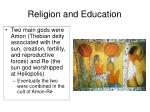religion and education1