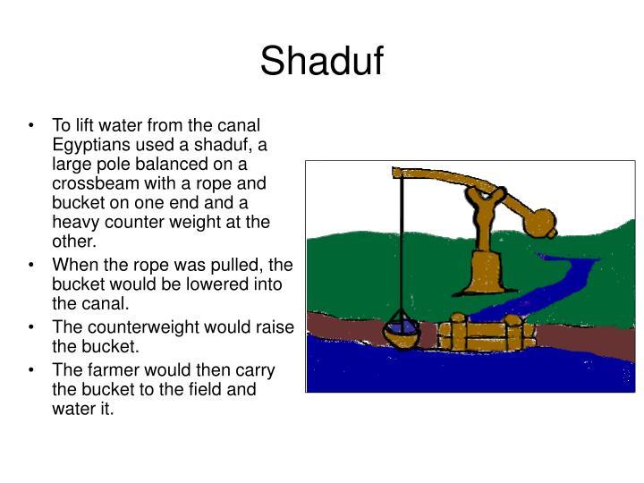 Shaduf