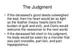 the judgment1