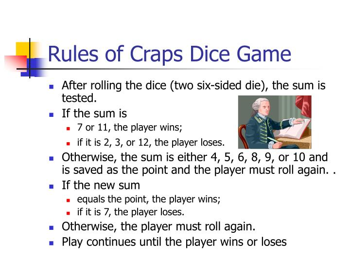 Tricks to winning craps