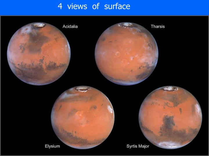 4  views  of  surface