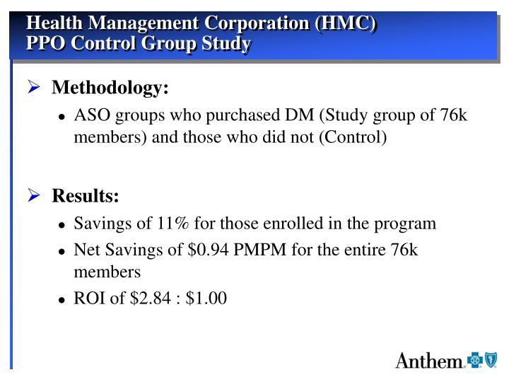 Health Management Corporation (HMC)