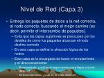 nivel de red capa 3
