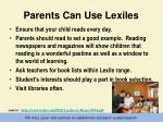 parents can use lexiles1