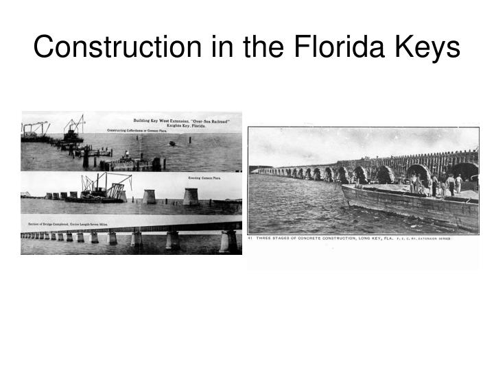 Construction in the Florida Keys