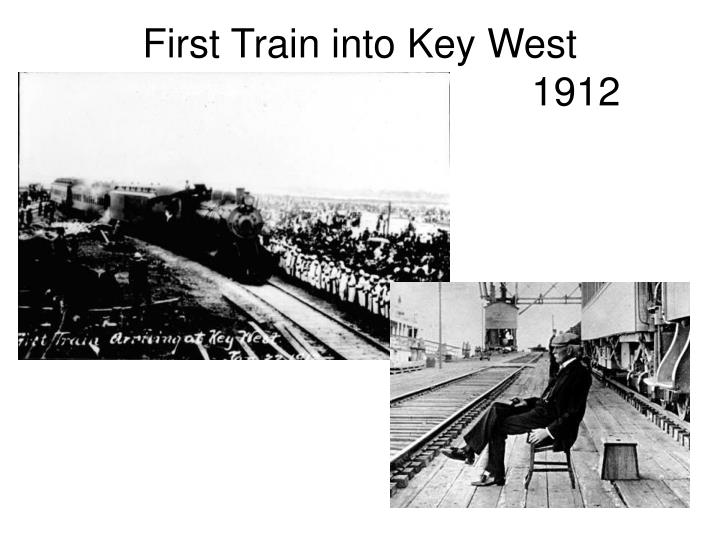 First Train into Key West