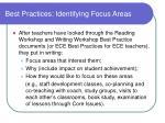 best practices identifying focus areas2
