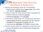 ogsi standard web services interfaces behaviors
