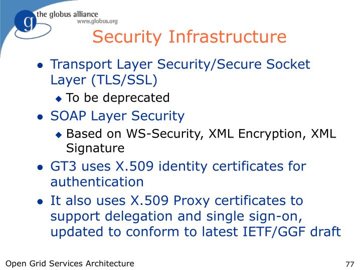 Security Infrastructure