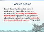 faceted search1