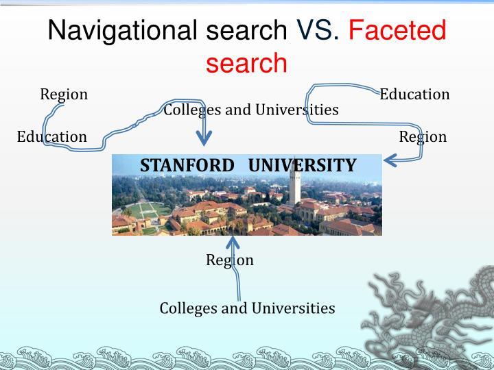 Navigational search