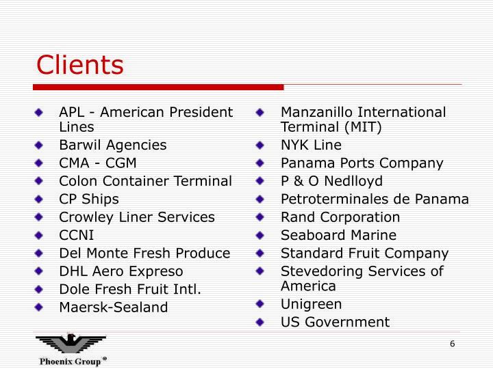 APL - American President Lines
