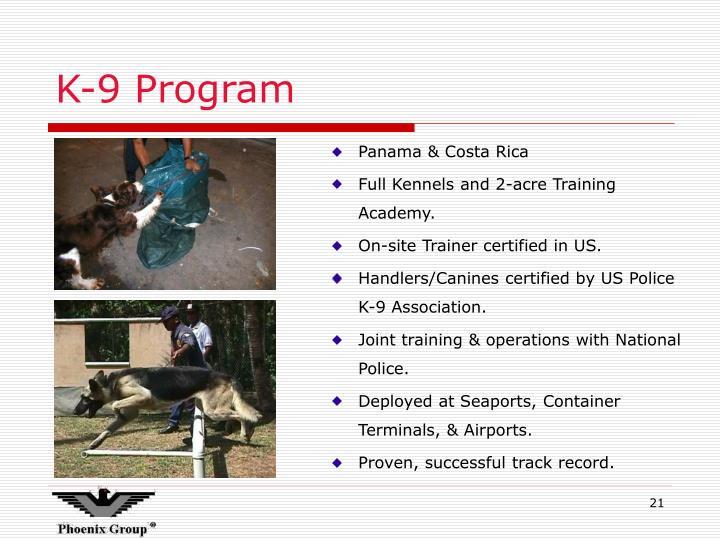 K-9 Program
