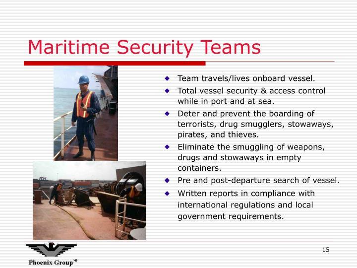 Maritime Security Teams