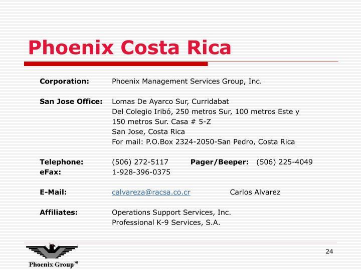 Phoenix Costa Rica