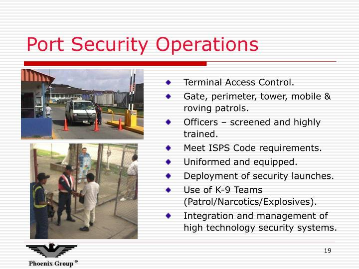 Port Security Operations