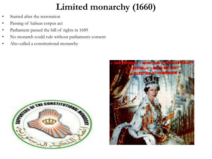 Limited monarchy (1660)