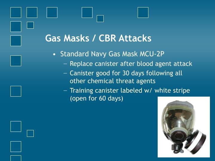 Gas Masks / CBR Attacks