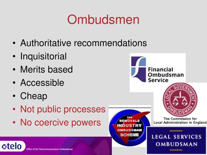 Ombudsmen