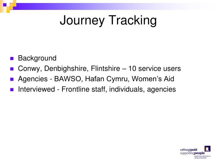 Journey Tracking