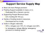 support service supply map