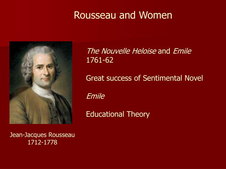 Rousseau and Women