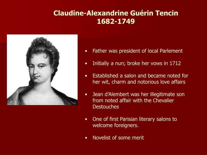 Claudine-Alexandrine Guérin Tencin