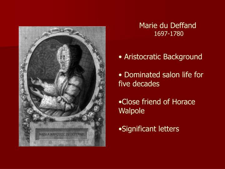 Marie du Deffand