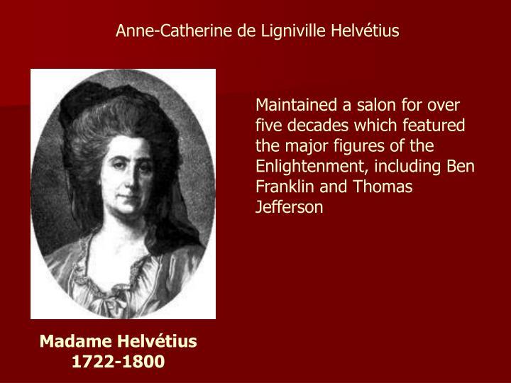 Anne-Catherine de Ligniville Helvétius