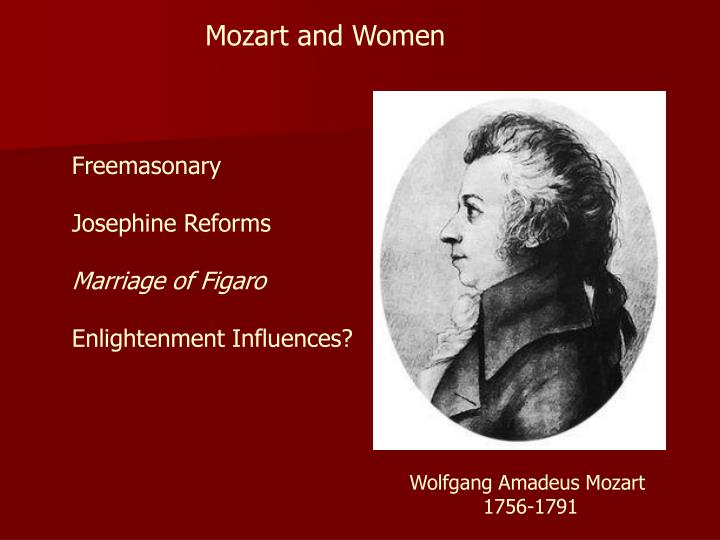 Mozart and Women