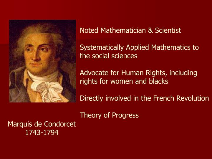 Noted Mathematician & Scientist