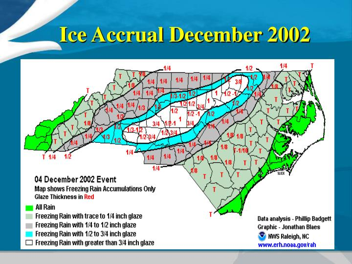 Ice Accrual December 2002