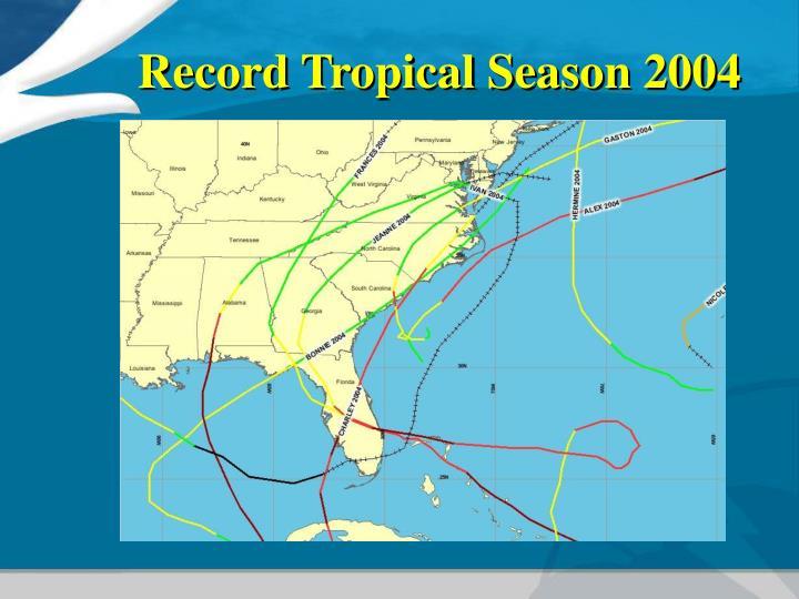 Record Tropical Season 2004
