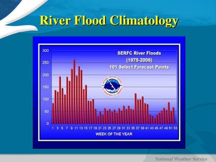 River Flood Climatology