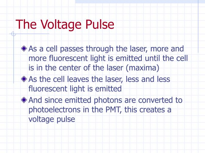 The Voltage Pulse