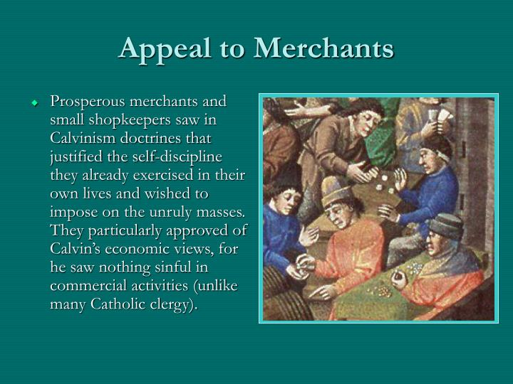 Appeal to Merchants