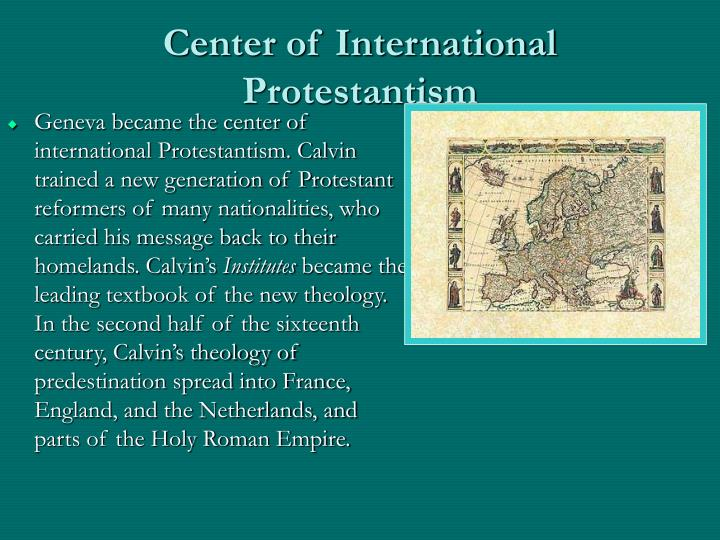 Center of International Protestantism