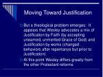 moving toward justification2