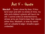 act v quote1