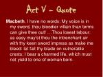 act v quote2