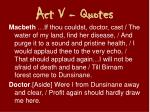 act v quotes2