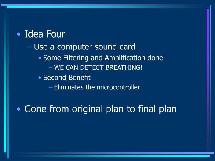 Idea Four