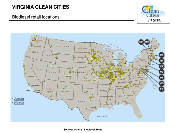 Biodiesel retail locations