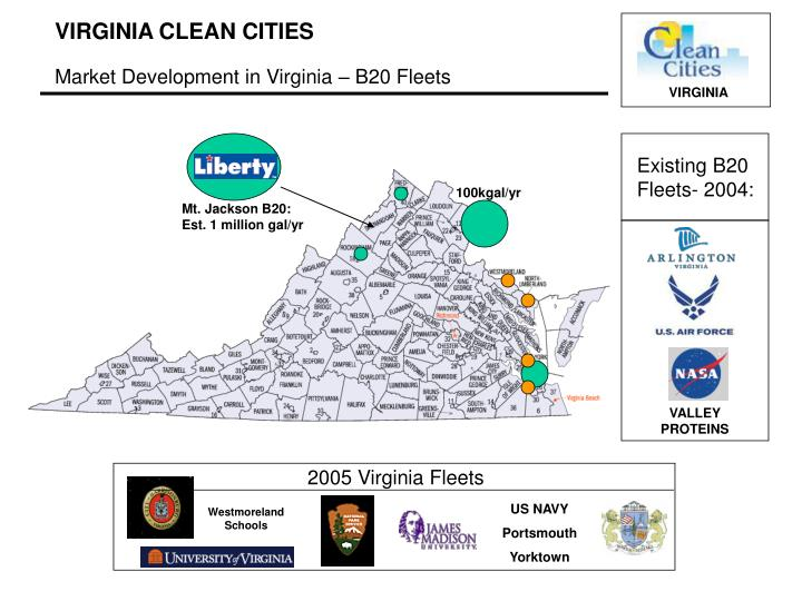 2005 Virginia Fleets