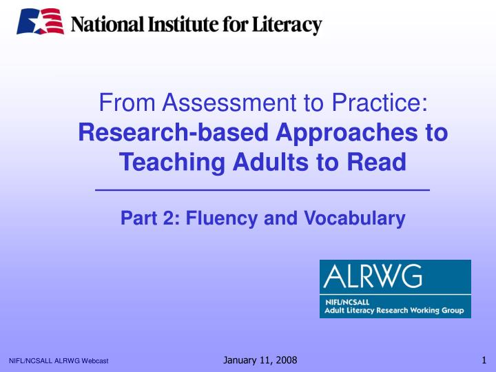 From Assessment to Practice: