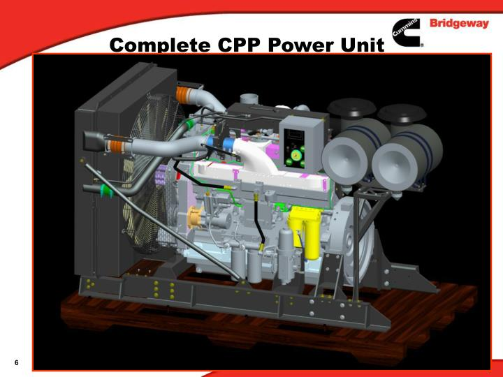 Complete CPP Power Unit