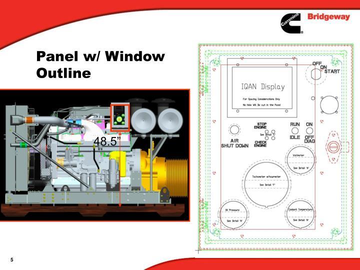 Panel w/ Window