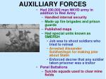auxilliary forces